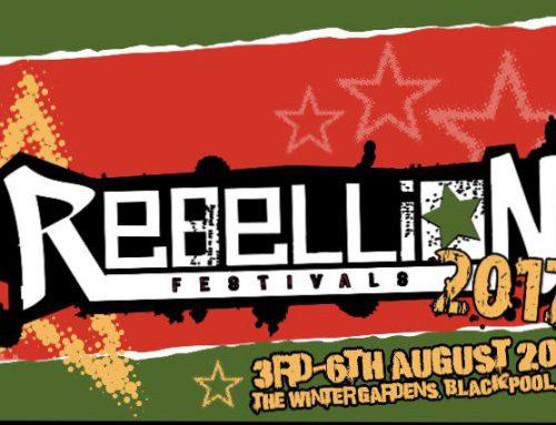 The Liptones confirmed for the Rebellion Festival, UK!