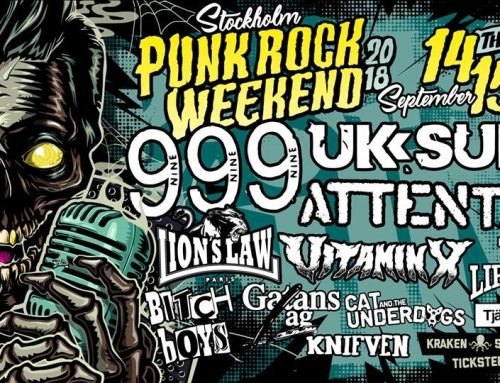 The Liptones at Stockholm Punkrock weekend in September!